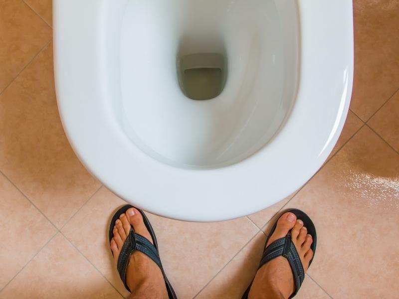 problème des toilettes