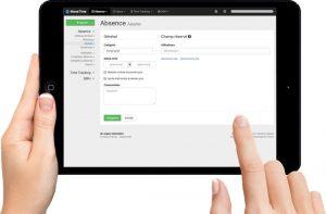 L'exploitation d'un logiciel pour la gestion des congés et absences